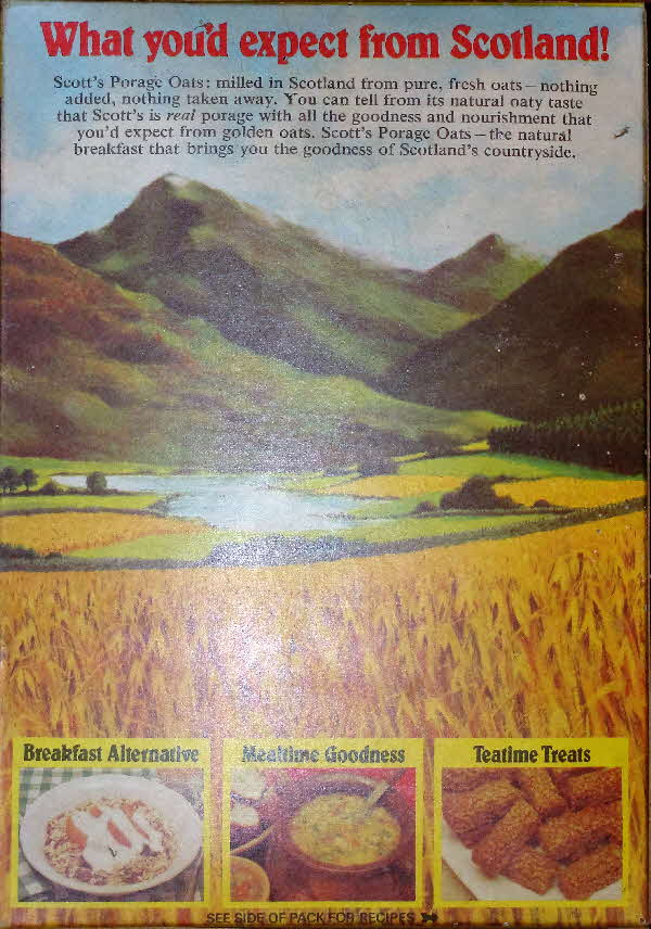 1970s Scotts Oats What You Would Expect in Scotland (1)