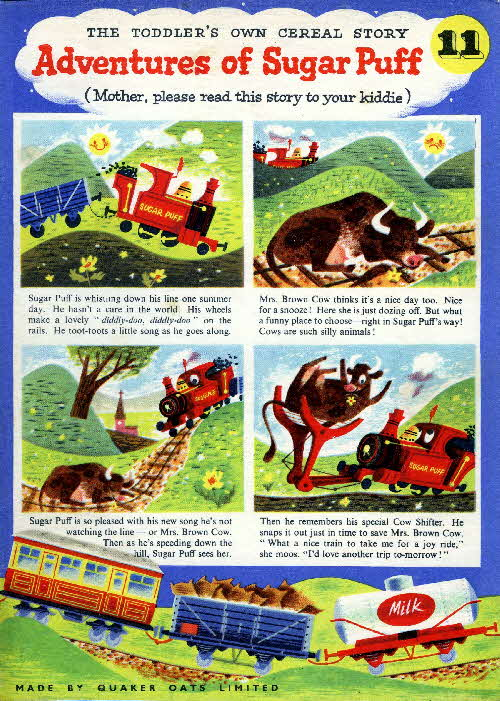 1957 Sugar Puffs Adventures No 11