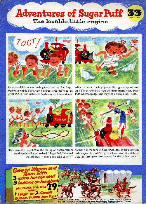 1957 Sugar Puffs Adventures No 33