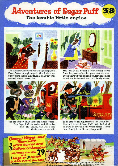 1957 Sugar Puffs Adventures No 38