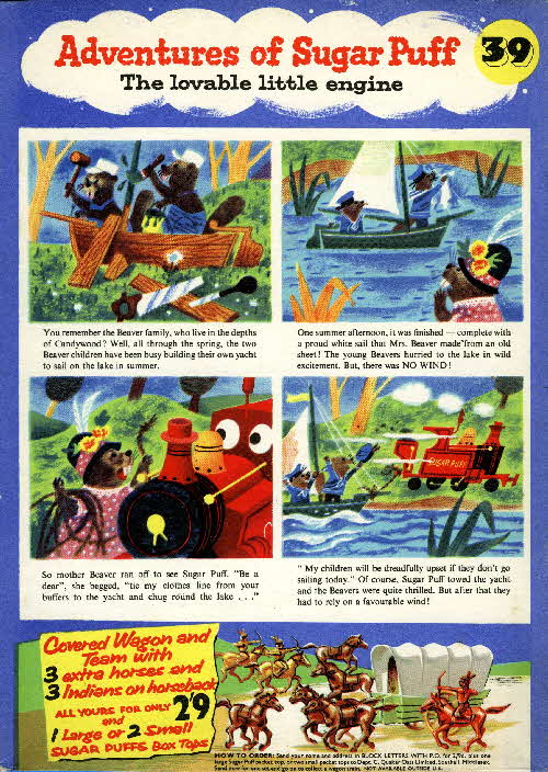 1957 Sugar Puffs Adventures No 39