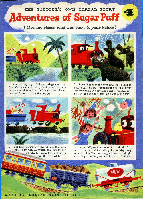 1957 Sugar Puffs Adventures No 4