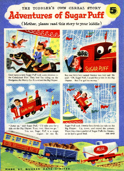 1957 Sugar Puffs Adventures No 5