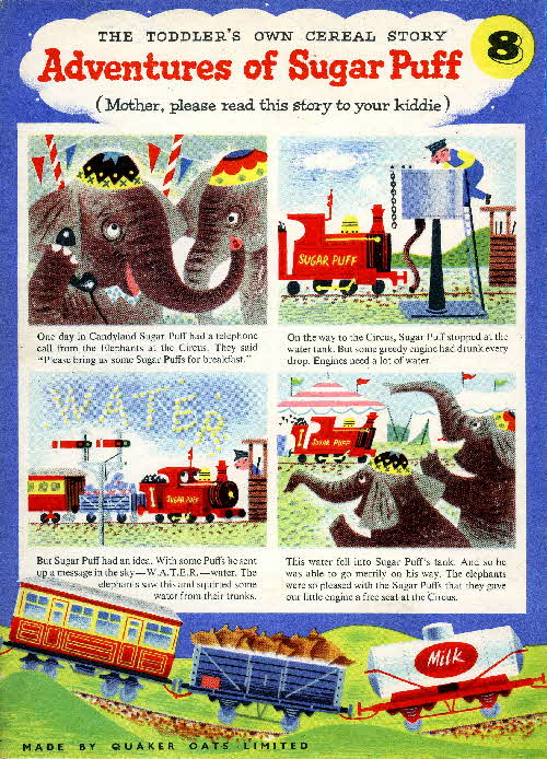 1957 Sugar Puffs Adventures No 8