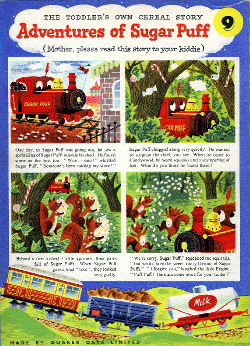 1957 Sugar Puffs Adventures No 9