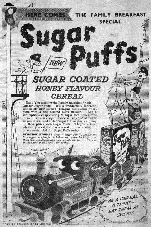 1957 Sugar Puffs Adventures