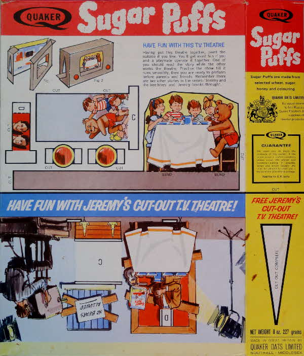 1960s Sugar Puffs Jeremy's Cut out TV Theatre (3)