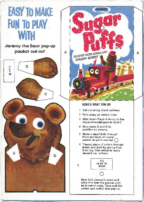 1962 Sugar Puffs Pop Up Jeremy Bear (2)
