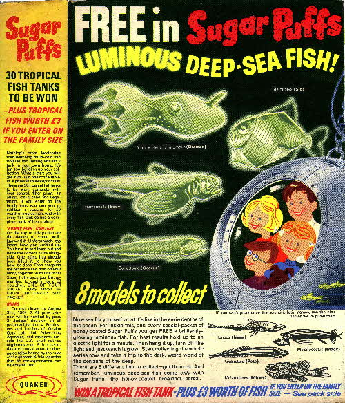 1964 Sugar Puffs Luminous Deep Sea Fish3