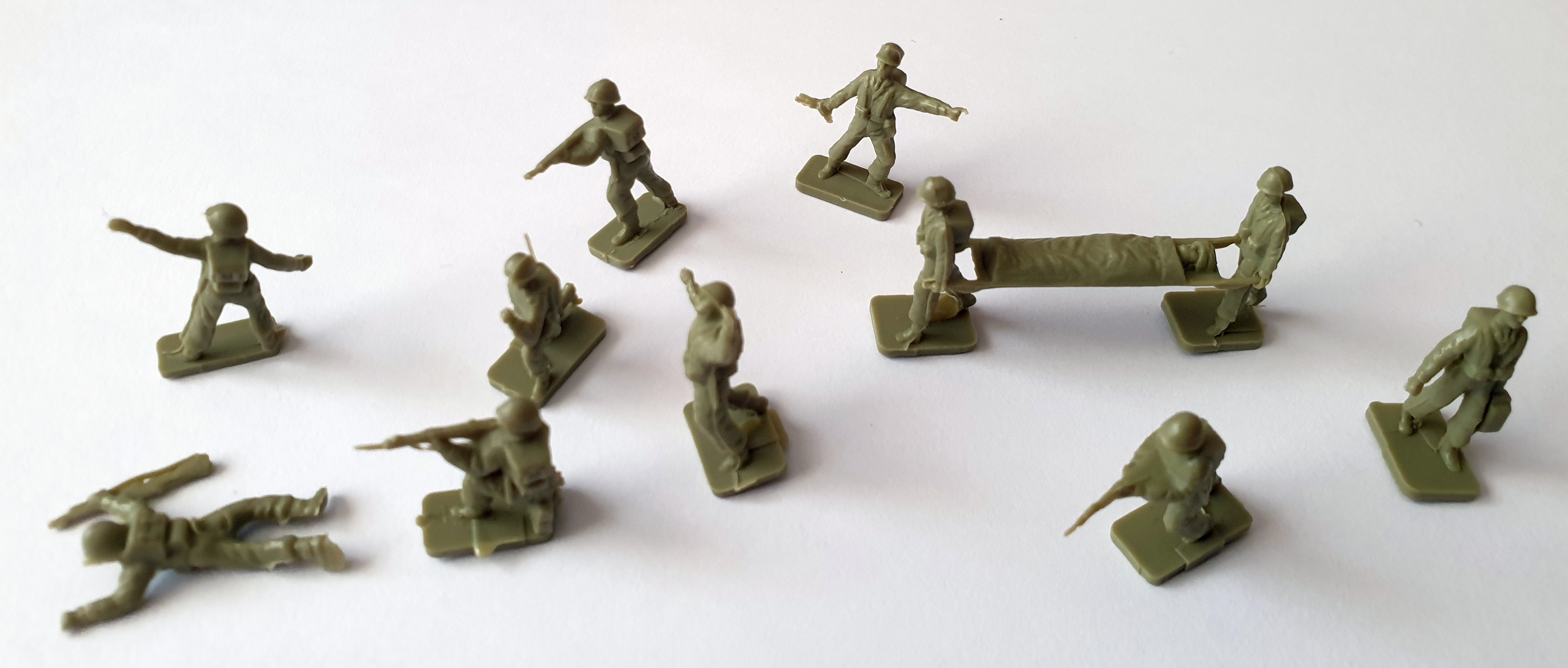 1962 Sugar Puffs Model Soldiers (1)
