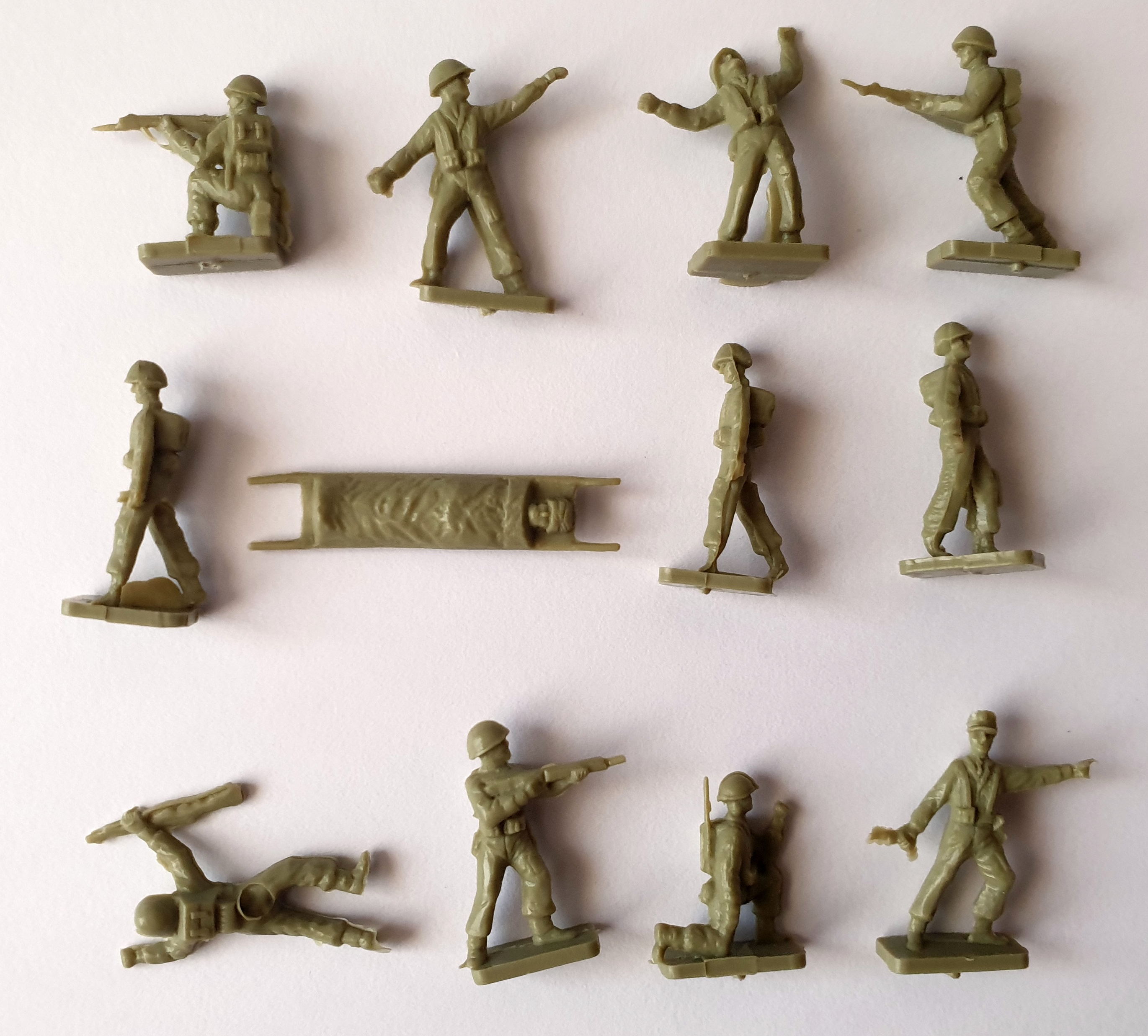 1962 Sugar Puffs Model Soldiers (2)