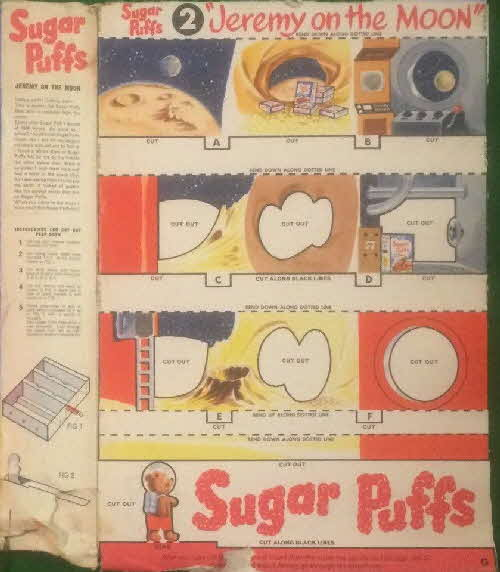 1963 Sugar Puffs Peephole Theatre On Moon