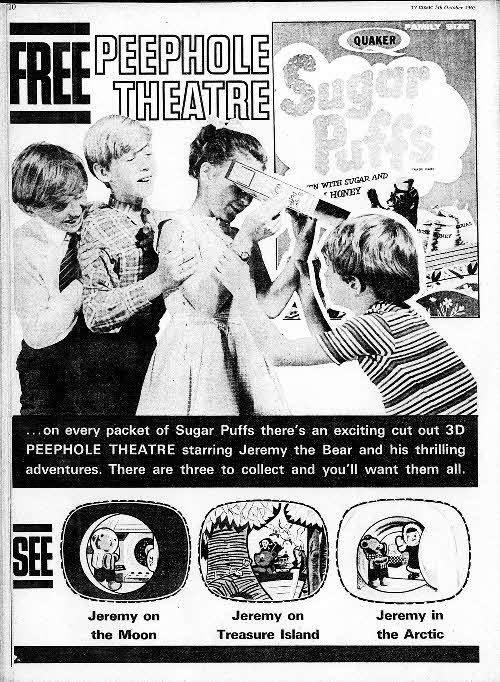 1963 Sugar Puffs Peephole Theatre