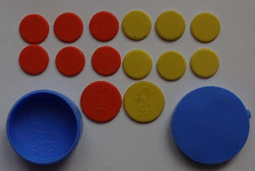 1965 Sugar Puffs Tiddlywinks Set (3)