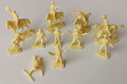 1963 Sugar Puffs Wild West Models Cowboys (1)