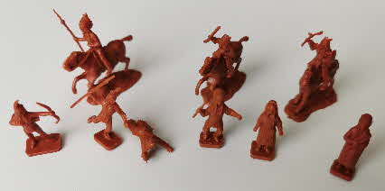 1963 Sugar Puffs Wild West Models Indians (3)