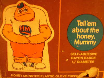 1977 Sugar Puffs Honey Monster Set (2)