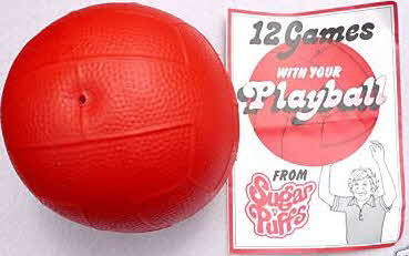 1975 Sugar Puffs Playball (betr)