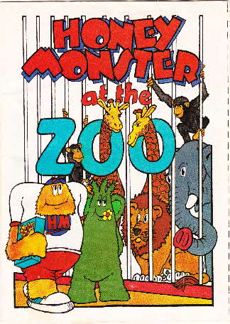 1984 Sugar Puffs Honey Monster Adventures at the Zoo (1)