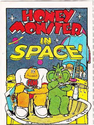 1984 Sugar Puffs Honey Monster Adventures in Space (1)
