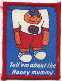 1980 Sugar Puffs cloth patch