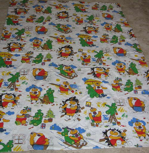 1980s Sugar Puffs Honey Monster Duvet set (1)