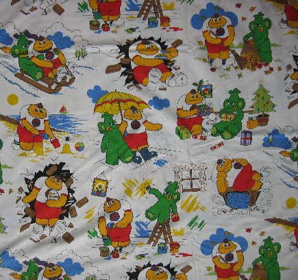 1980s Sugar Puffs Honey Monster Duvet set (2)