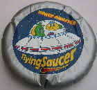 1980s Sugar Puffs inflatable flying saucer
