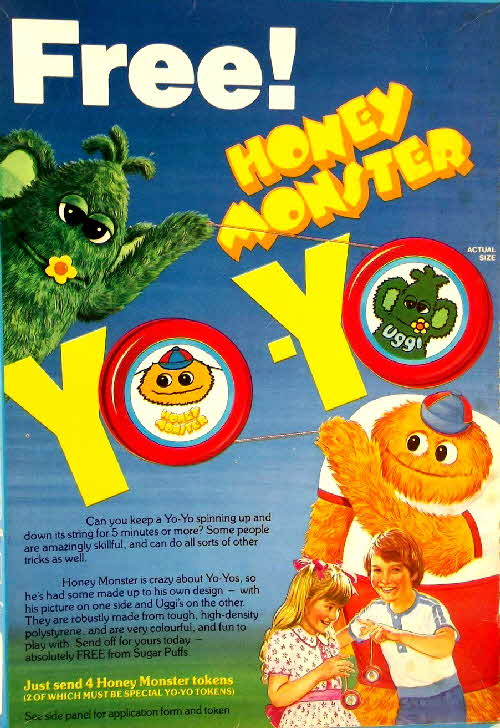 1983 Sugar Puffs Yo Yo2