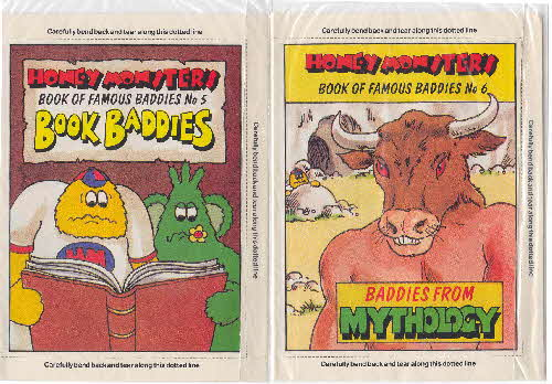 1986 Sugar Puffs Book of Famous Baddies 2