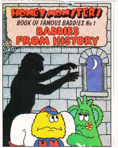 1986 Sugar Puffs Book of Famous Baddies No 1 History (1)