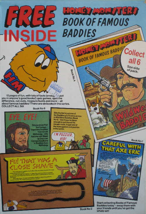 1986 Sugar Puffs Book of Famous Baddies