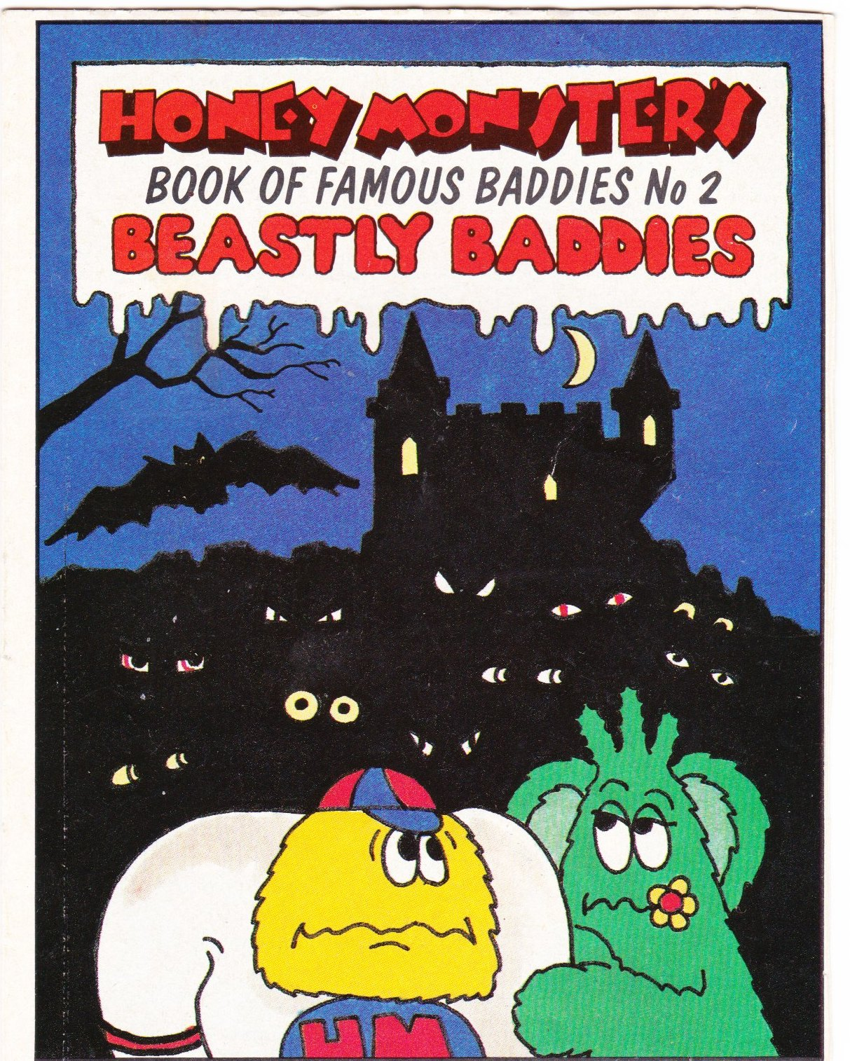 1986 Sugar Puffs Book of Famous Baddies No 2 Beastly (1)