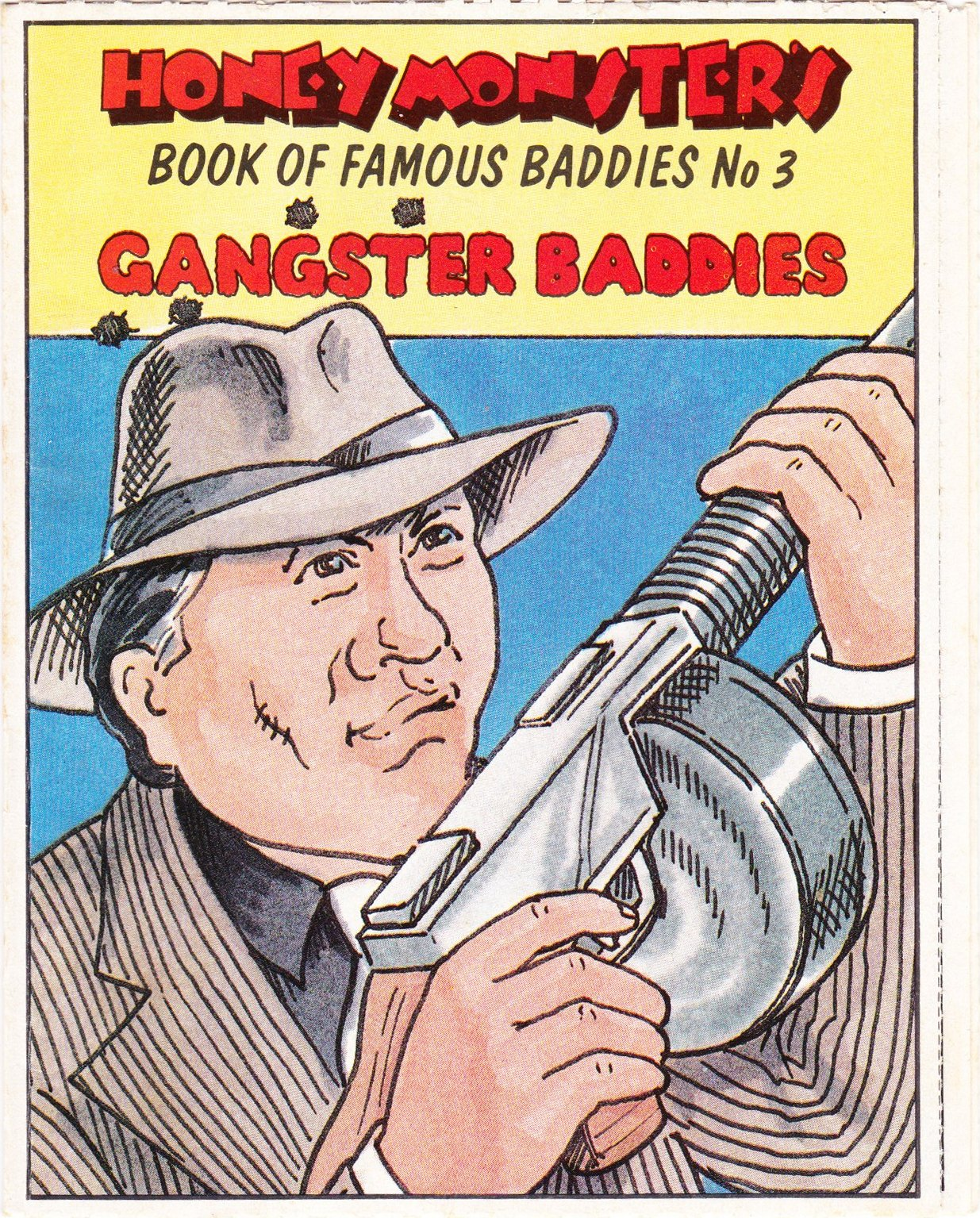 1986 Sugar Puffs Book of Famous Baddies No 3  Gangsters (1)