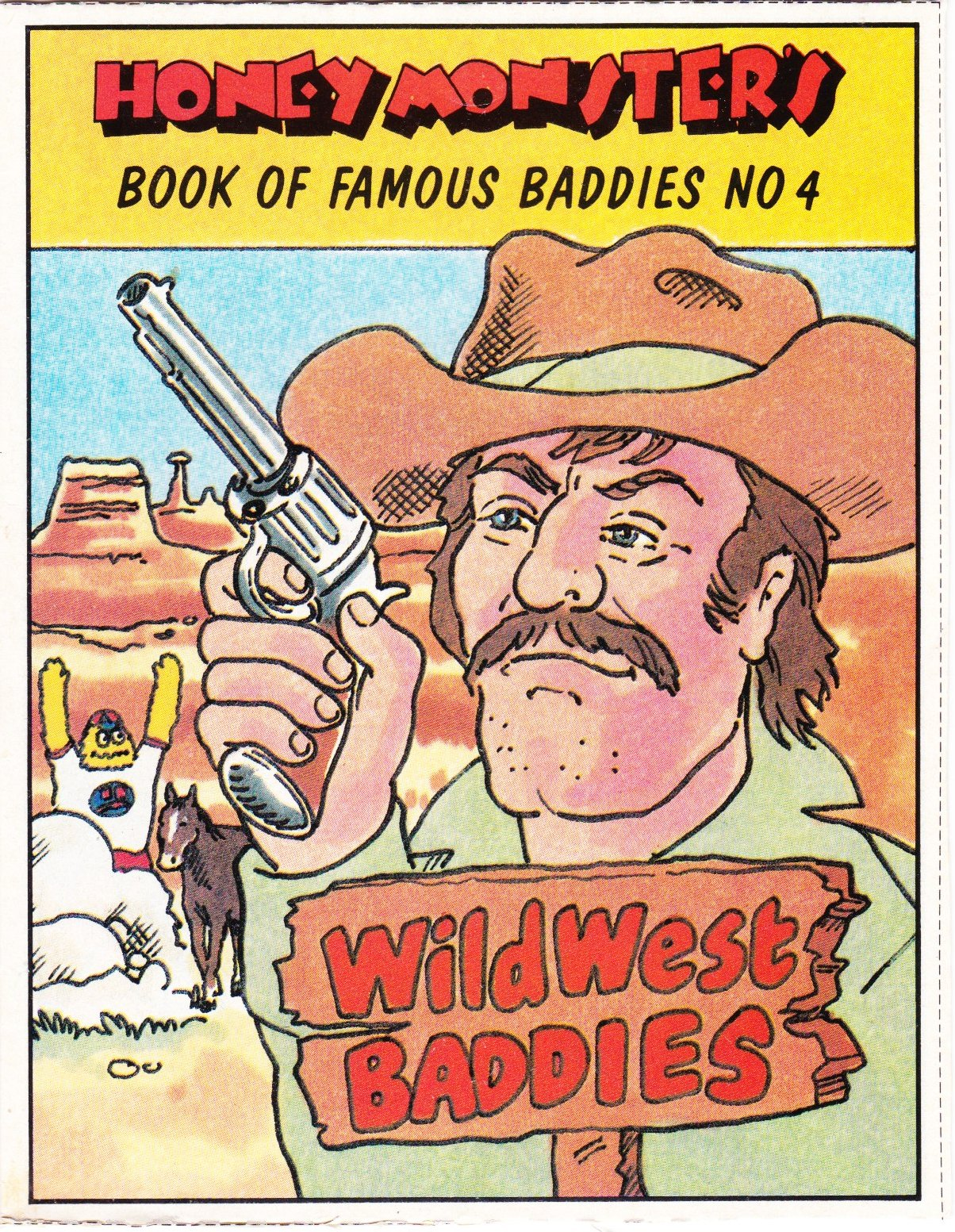 1986 Sugar Puffs Book of Famous Baddies No 4  Wild West (1)
