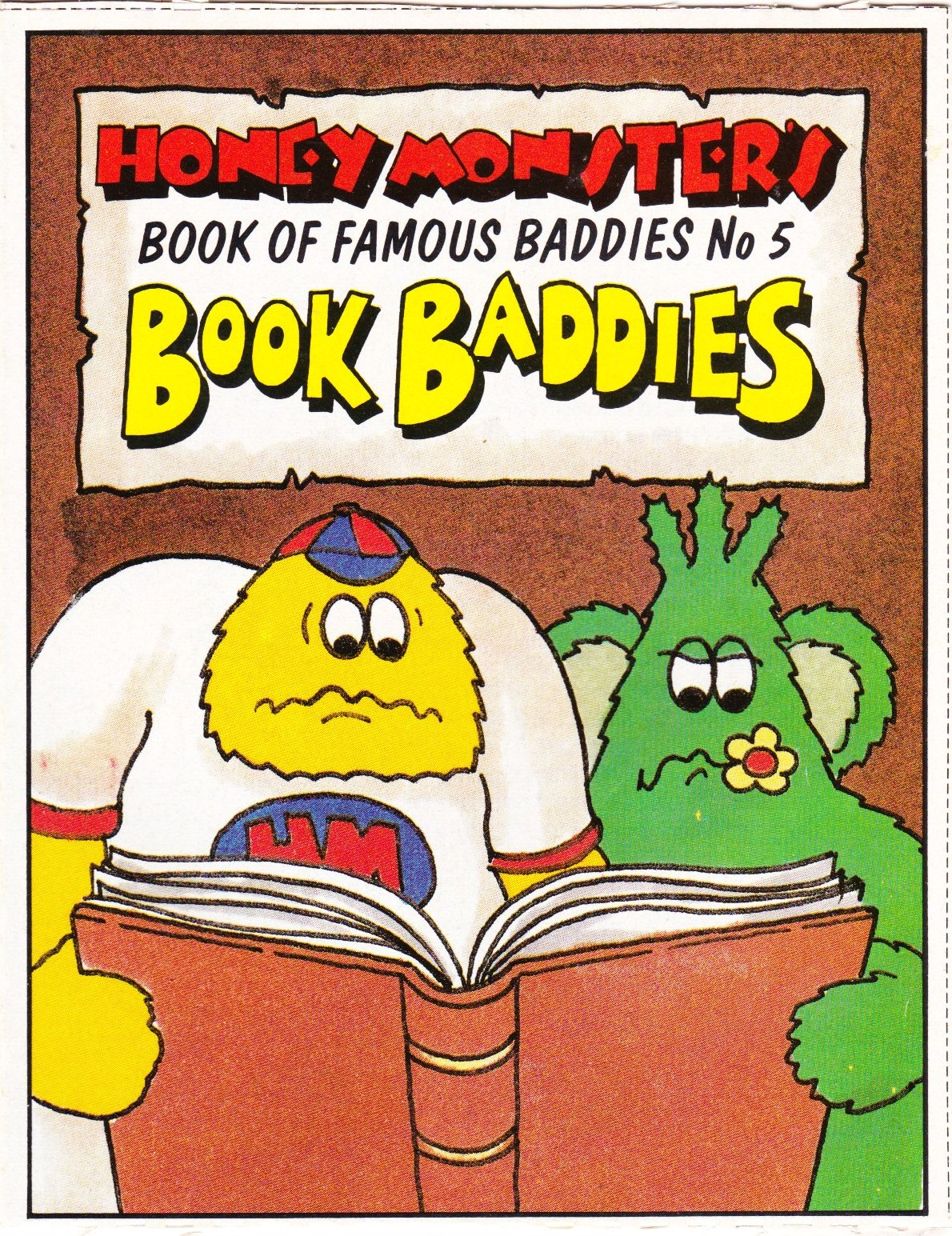 1986 Sugar Puffs Book of Famous Baddies No 5 Book (1)