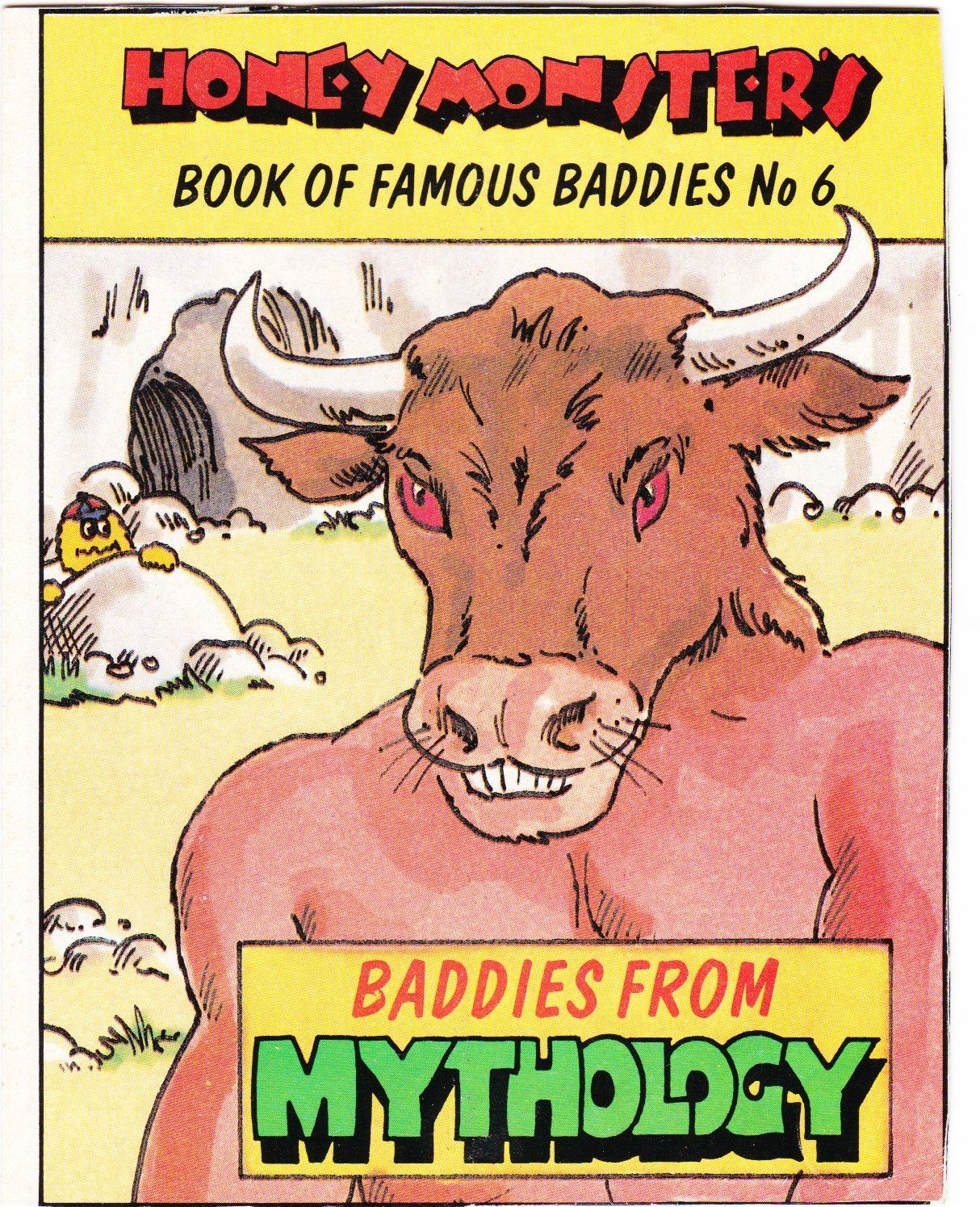 1986 Sugar Puffs Book of Famous Baddies No 6 Mythological (1)