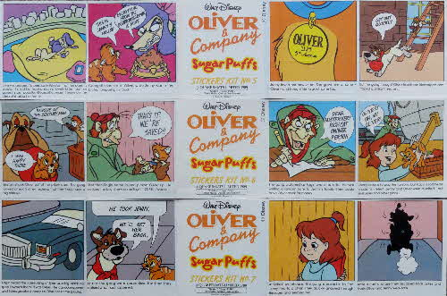 1989 Sugar Puffs Oliver & Co front (1)