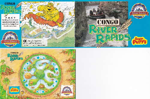 1994 Sugar Puffs Alton Towers Pocket Game - Congo River (1)