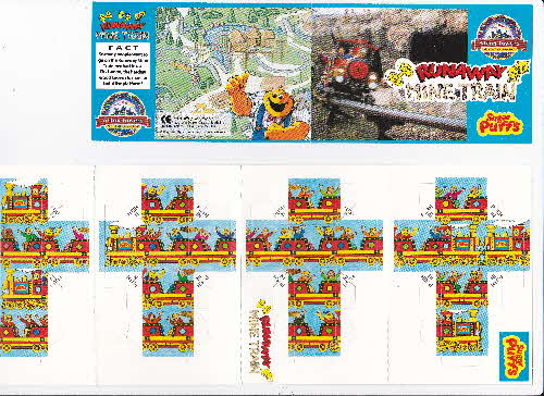 1994 Sugar Puffs Alton Towers Pocket Game - Runaway Train (1)