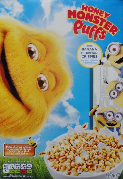 2015 Sugar Puffs Ltd Edition Banana & Minoons packet (2)