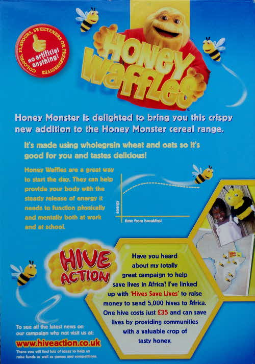2007 Honey Waffles New Hive Action