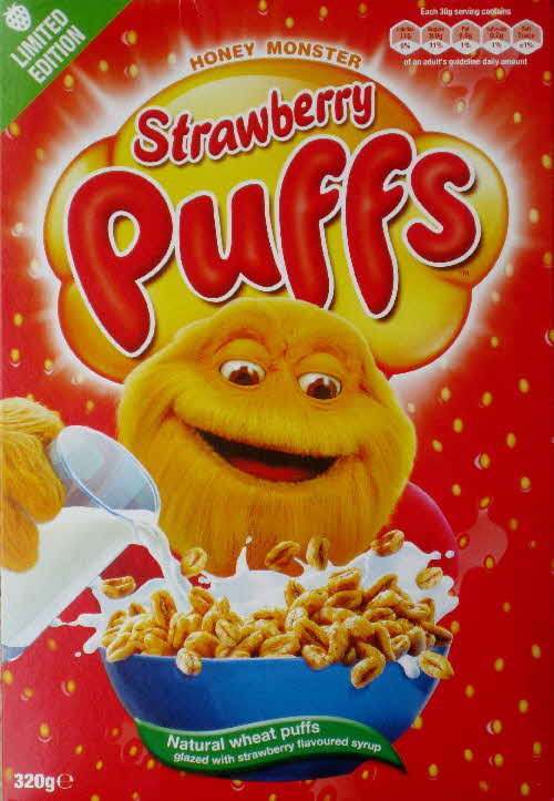 2011 Strawberry Puffs Limited Edition front