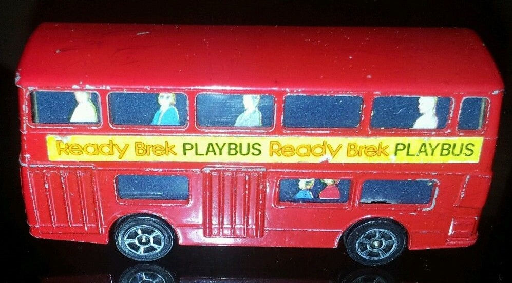 Ready Brek Corgi Junior bus