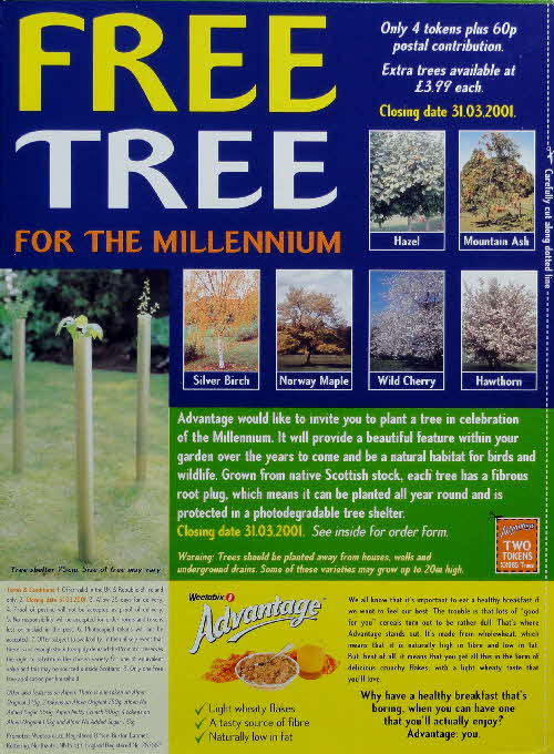 1999 Advantage Free Tree for Millennium