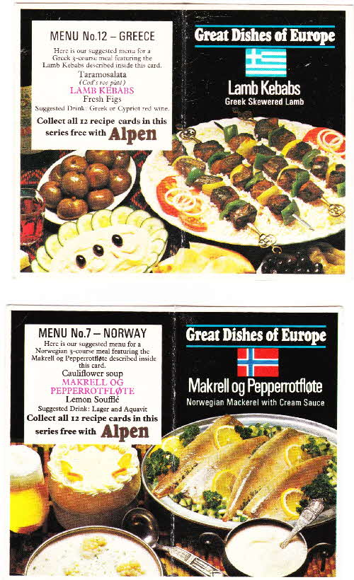 1975 - Great Dishes of Europe (2)