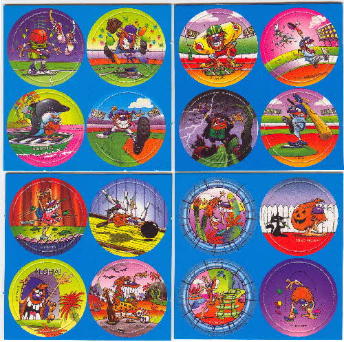 1995 Chex Pogs Milk Caps series 2 1
