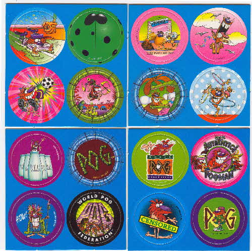 1995 Chex Pogs Milk Caps series 2 2