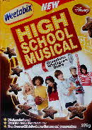2009 Weetabix High School Musical front2