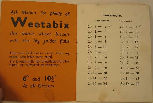 1930s Weetabix Useful Information Booklet (4)